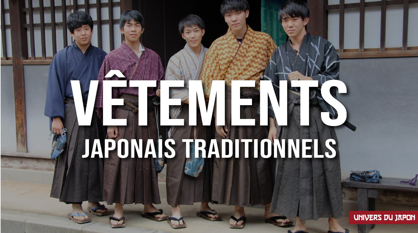 vêtements traditionnels japonais
