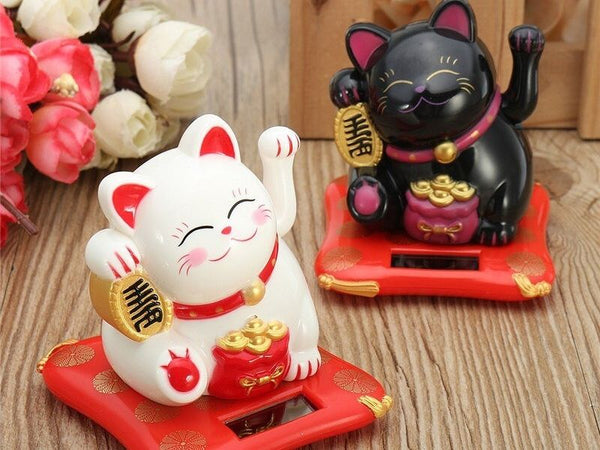 Chat maneki neko solaire - Univers du Japon