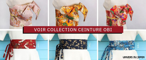 Collection ceinture obi