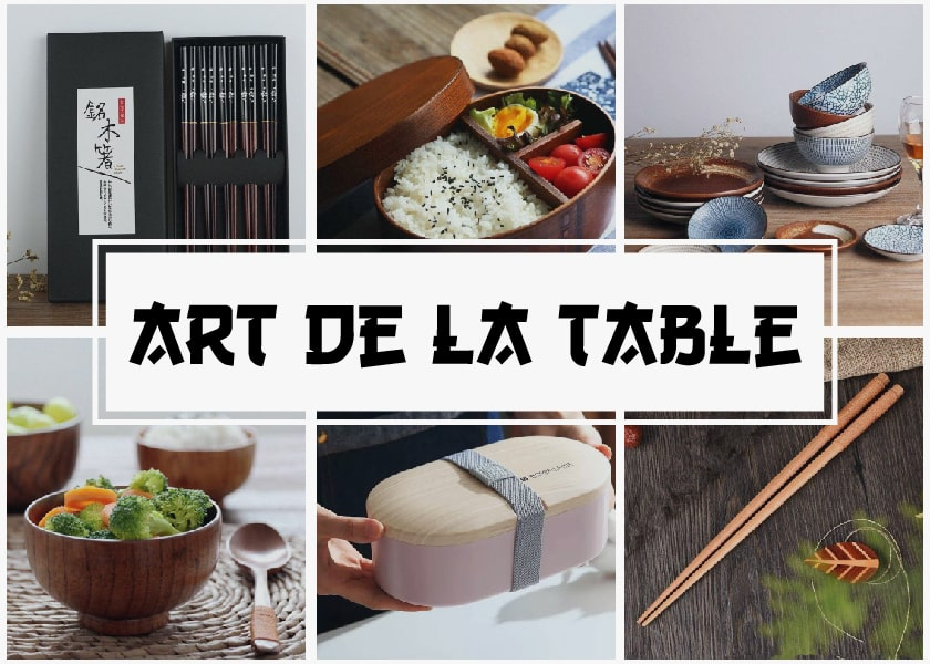 art de la table japonaise