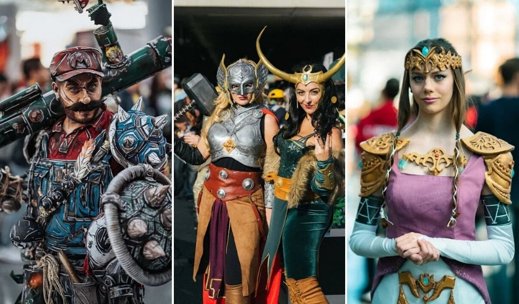 cosplayers Comic-con New York 2019