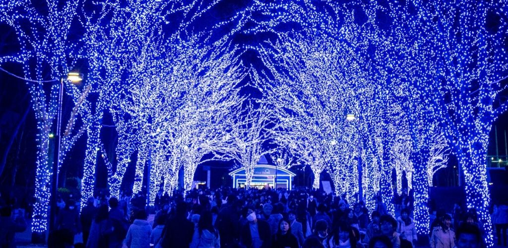 Illuminations hivernales Japon