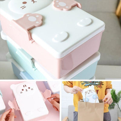 Boîte Bento Kawaii Kitty