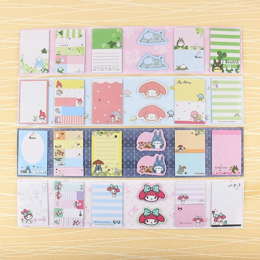Carnet Bloc-Note Mémo Kawaii - Univers du Japon