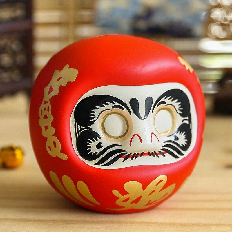 Daruma Tirelire - Rouge