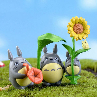 Lot de 9 Figurines Japonaises Mon Voisin Totoro