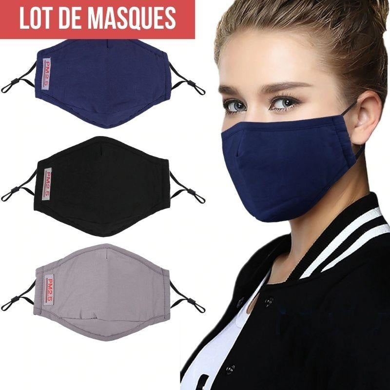 Lot Masques de Protection Japonais - Unique
