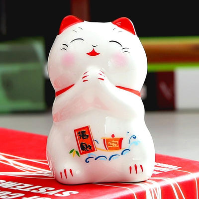 Maneki Neko - Coffret 5 Figurines