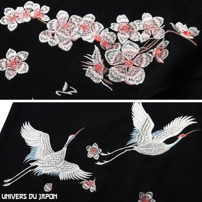 Sweat Broderie Japonaise