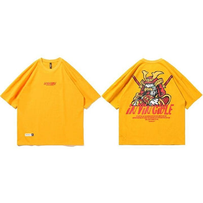 T-shirt Japonais Invincible - Jaune / S