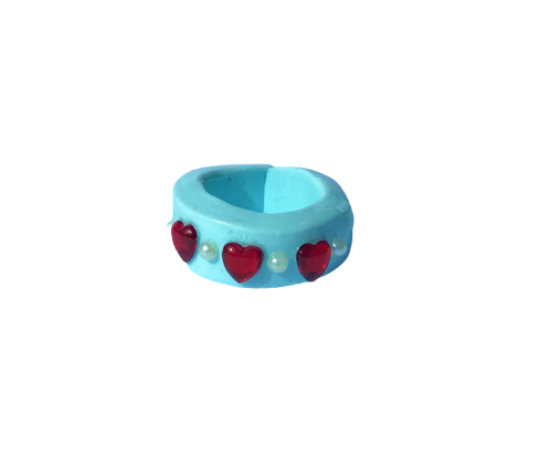 BABY BLUE - Clay Ring - Roseate Lifestyle