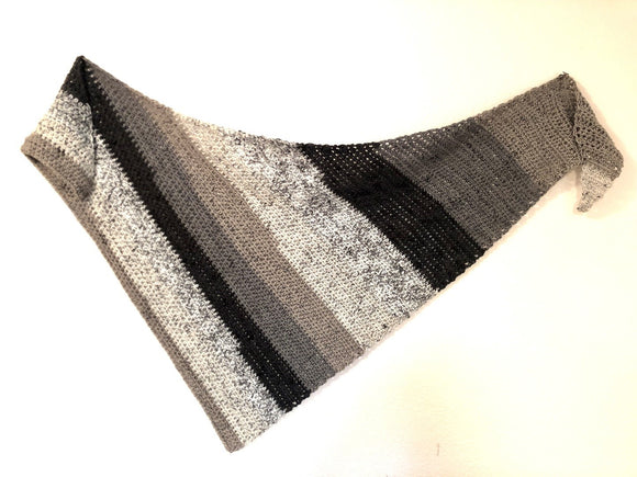 The Half Double Shawl