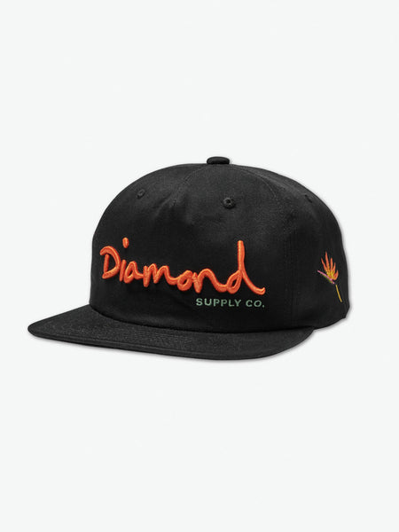 Diamond Supply Co - OG Script Snapback SS19 - Black