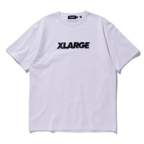 XLARGE - S/S Tee Standard Logo Patch - White