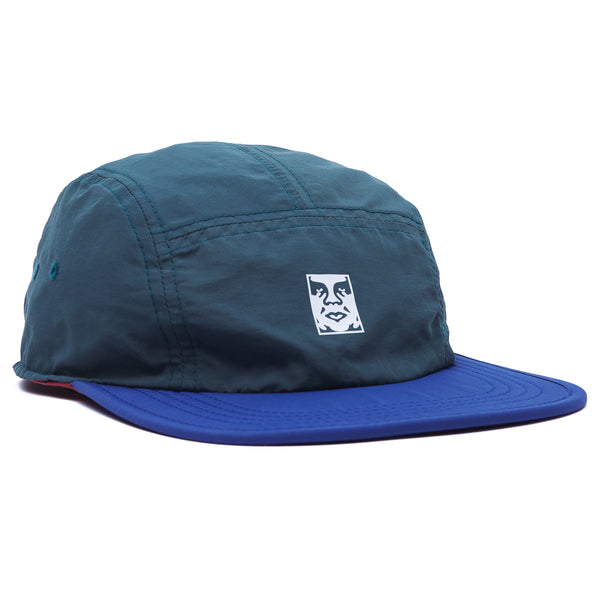 OBEY - ROBBIN REVERSIBLE 5 PANEL HAT - GREEN