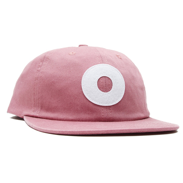 OBEY - BLOCK 6 PANEL STRAPBACK - MESA ROSE