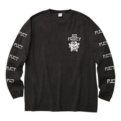 FUCT SSDD - RXCX No Mercy Long Sleeve Tee - Black