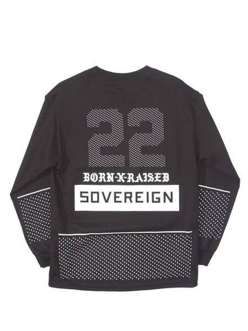 Born X Raised - Sovereign Long Sleeve Tee - Black - THIS IS ALLEY