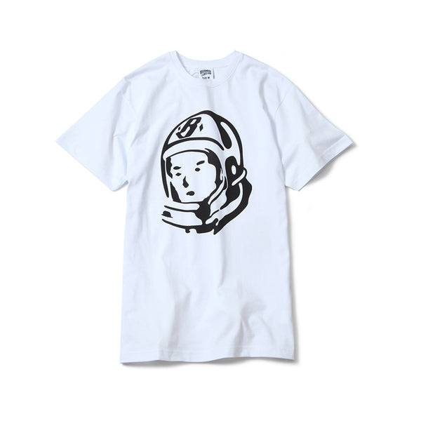 BILLIONAIRE BOYS CLUB - HELMET SS TEE - WHITE