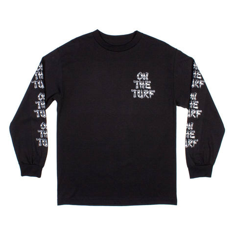 Born X Raised - Turf Long Sleeve Tee - Black - THIS IS ALLEY