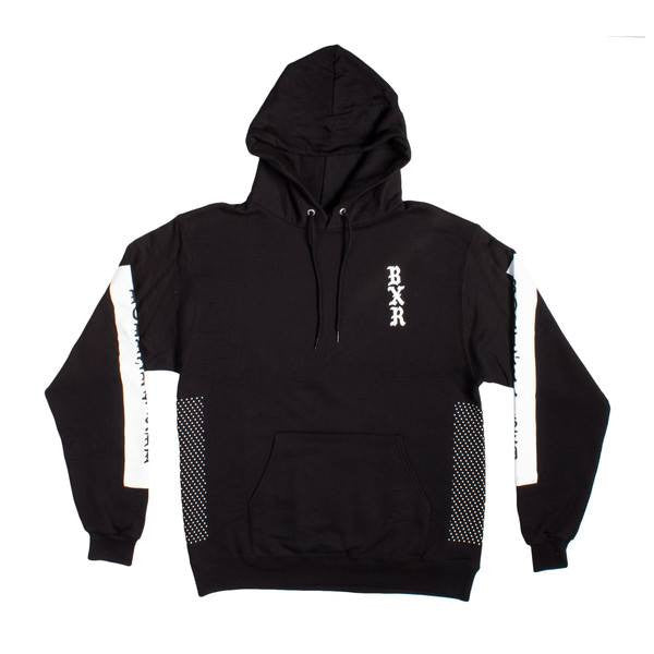 Born X Raised - Locals Only Pullover Hoodie - Black