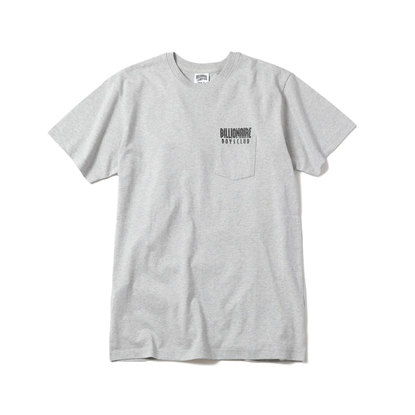 BILLIONAIRE BOYS CLUB - BB WELCOME T-SHIRT - HEATHER GREY