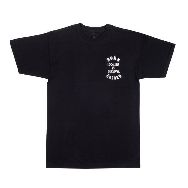 Born X Raised - Localism Tee - Black - THIS IS ALLEY