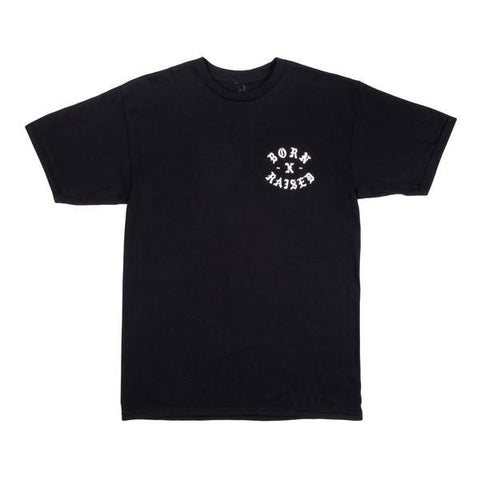 Born X Raised - Flaca Tee - Black - THIS IS ALLEY