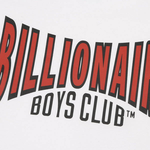 BILLIONAIRE BOYS CLUB - RACING LOGO T-SHIRT - WHITE