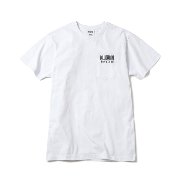 BILLIONAIRE BOYS CLUB - BB WELCOME T-SHIRT - WHITE