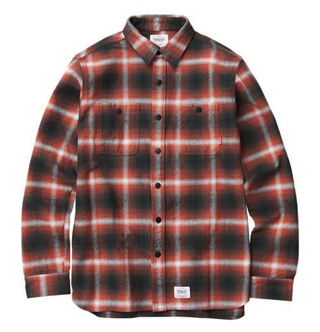 FUCT SSDD - Flannel Shirt - Red