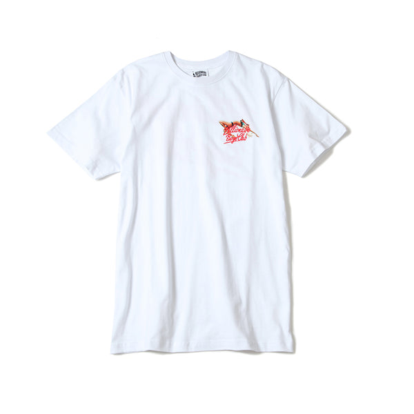 BILLIONAIRE BOYS CLUB - BB NEON GLOBE SS TEE - WHITE