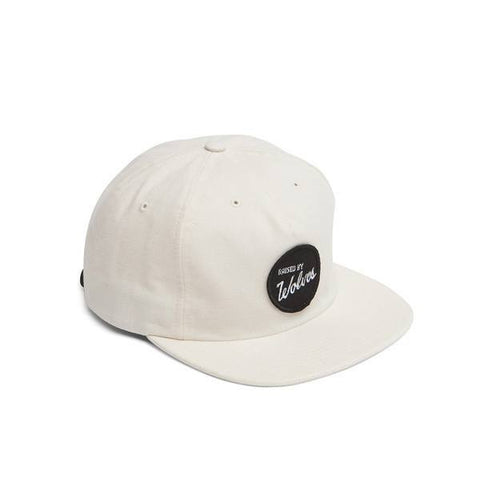 Raised By Wolves - Varsity Polo Cap - Off White - THIS IS ALLEY