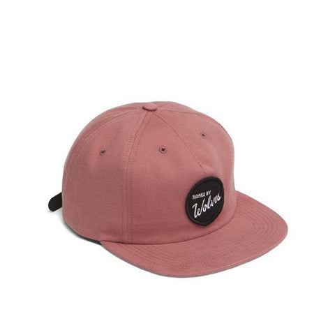 Raised By Wolves - Varsity Polo Cap - Clay