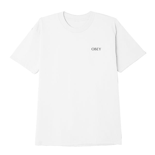 OBEY - OBEY FACE COLLAGE TEE - WHITE