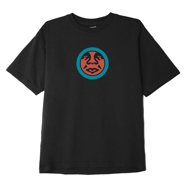 OBEY - OBEY ICON FACE TEE - BLACK