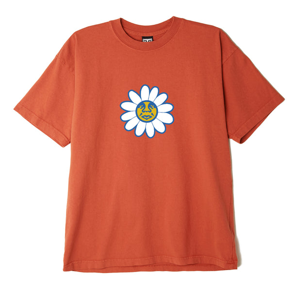 OBEY - OBEY DAISY ICON TEE - PUMPKIN SPICE