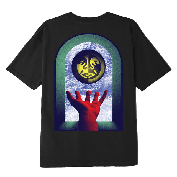 OBEY - WINDOW WATCHER TEE - BLACK