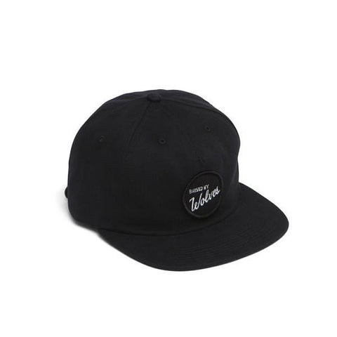 Raised By Wolves - Varsity Polo Cap - Black