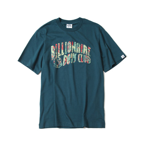 BILLIONAIRE BOYS CLUB - REFLECTIVE LIZARD CAMO TEE - MARINA