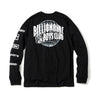 BILLIONAIRE BOYS CLUB - BB WORLD TOUR L/S T-SHIRT - BLACK