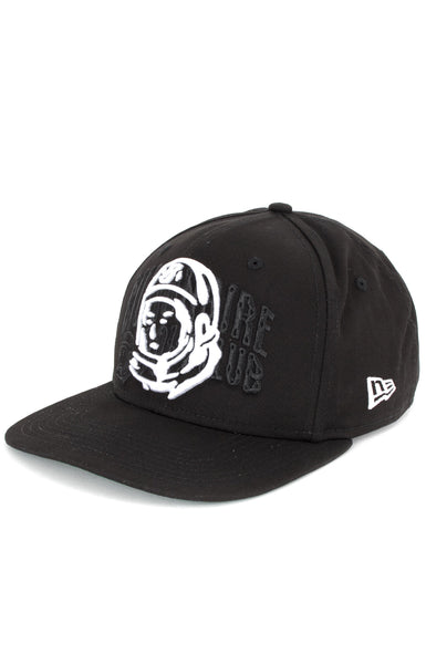 BILLIONAIRE BOYS CLUB - BB ARCH BLEND SNAPBACK HAT - BLACK