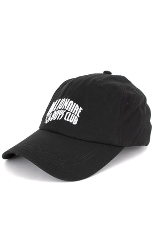 BILLIONAIRE BOYS CLUB - BB ARCH CLASSIC STRAPBACK HAT - BLACK