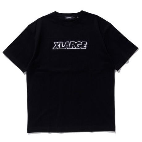 XLARGE - S/S Tee Standard Logo Patch - Black