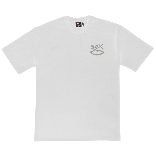 3M Reflective Back Tee - White