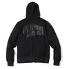 BILLIONAIRE BOYS CLUB - BB ZIP LOGO HOODIE - BLACK