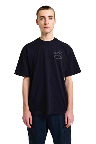 3M Reflective Back Tee - Black