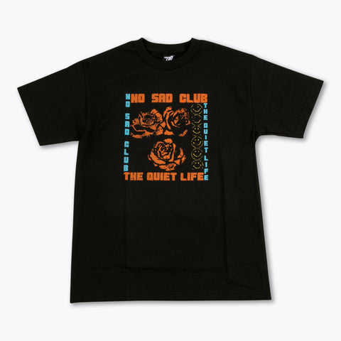 The Quiet Life - No Sad Club Tee - Black