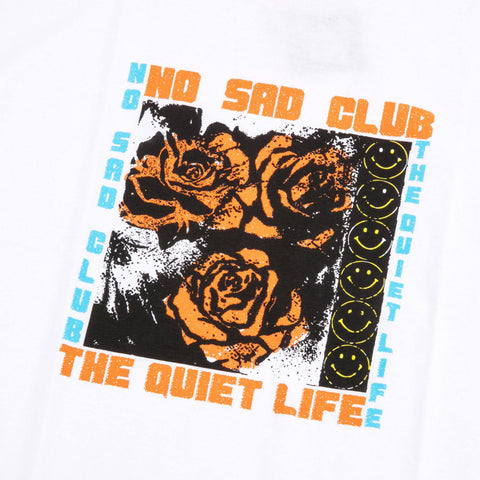 The Quiet Life - No Sad Club Tee - White