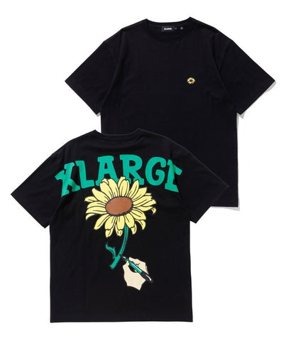 XLARGE - S/S Tee Sunflower - Black